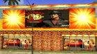 Боксёрский клуб Rocky Balboa на Grove Street для GTA San Andreas вид сзади слева