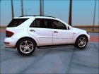 2009 Mercedes-Benz ML 63 AMG v2.0 для GTA San Andreas вид слева