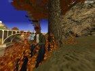 Осенние листья на деревьях. v1.0 для GTA San Andreas вид сверху