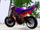 Kawasaki Ninja Zx 6R Stunter для GTA San Andreas вид сверху