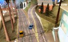 Новые дороги в Вайнвуде for GTA San Andreas top view