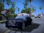 Rolls-Royce Phantom для GTA San Andreas вид сзади слева