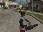 Новое хорошее оружие (Bukashechka) for GTA San Andreas rear-left view