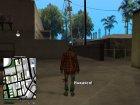 Приключения бомжа для GTA San Andreas вид слева