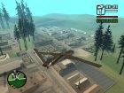 Avenger Drone для GTA San Andreas вид сзади слева
