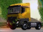 Mercedes-Benz Actros MP4 Stream Space Black для GTA San Andreas