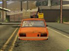 Renault 12 El Rat для GTA San Andreas вид сверху