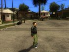 Claude Original from GTA 3 для GTA San Andreas вид сзади слева