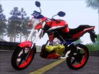 Yamaha Vixion Advance for GTA San Andreas left view