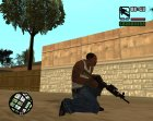Пак удобного оружия for GTA San Andreas top view