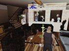 Новый интерьер в доме CJ для GTA San Andreas вид справа