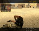 Реалистичные следы пуль на плоти for Counter-Strike Source rear-left view