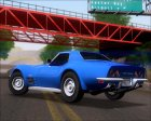 Chevrolet Corvette ZR1 1970 для GTA San Andreas вид сзади слева