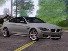 BMW M4 (HQLM) for GTA San Andreas left view