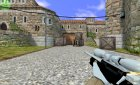 Black/White AWP for Counter-Strike 1.6 rear-left view