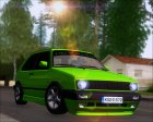 Volkswagen Golf MKII Zelengija (Tuning A.K) for GTA San Andreas