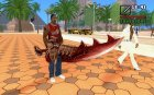 Sword of Halisha для GTA San Andreas вид слева