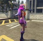 Miss Fortune League of Legends for GTA 5 rear-left view