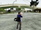 Спортивная сумка Puma v1 для GTA San Andreas вид слева