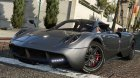Pagani Huayra v1.21 for GTA 5 rear-left view