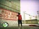 Футболка Бабайка for GTA San Andreas left view