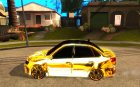 Lada Granta - ВАЗ 2190 GOLD for GTA San Andreas left view