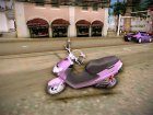 Suzuki Adress for GTA Vice City top view