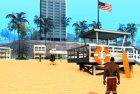 Новая спасательная вышка for GTA San Andreas rear-left view