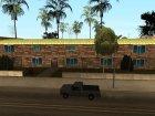 Изменённый Грув Стрит for GTA San Andreas rear-left view