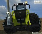 Claas Xerion 5000 Trac VC v5.0 for Farming Simulator 2013 back view