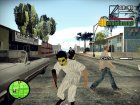 The Baseball Furies skin (The Warriors) для GTA San Andreas вид сзади слева