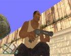 Пак оружия GTA 5 v2 for GTA San Andreas rear-left view
