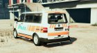 VW T5 Swiss - GE Police for GTA 5 left view