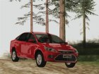 Ford Focus Sedan 2009 ImVehFT для GTA San Andreas вид сверху