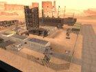 Мёртвый город в пустыне для GTA San Andreas вид изнутри