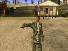 Пак скинов, оружия и одежды for GTA San Andreas right view