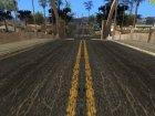Новые улицы и тротуары в HD 2015 для GTA San Andreas вид сзади слева