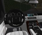 Range Rover Sport HSE для GTA Vice City вид изнутри