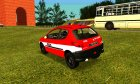Peugeot 206 Fire for GTA San Andreas top view