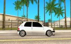 Peugeot 106 GTi Tuning for GTA San Andreas inside view