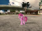 Berrypunch (My Little Pony) для GTA San Andreas вид сзади слева