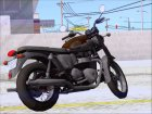 Motorcycle Triumph from Metal Gear Solid V The Phantom Pain for GTA San Andreas top view