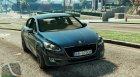 Peugeot 508 for GTA 5 top view
