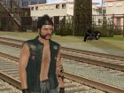 Biker from GTA Online для GTA San Andreas вид сбоку