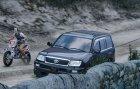 Toyota Land Cruiser 100 for GTA 5 rear-left view