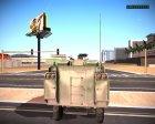 БТР 40 для GTA San Andreas вид сбоку