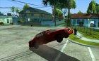Возможность поднять машину на дыбы для GTA San Andreas вид сзади слева
