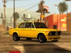 BMW 2002 Turbo 1973 Stock for GTA San Andreas rear-left view