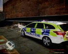 Ford Focus police UK for GTA 4 left view