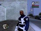 Nick Fury для GTA San Andreas вид сзади слева